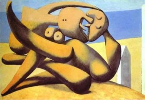 Pablo Picasso - Figures on a Beach[1]